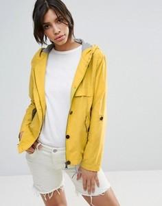 Укороченная куртка-парка Parka London Anja - Желтый