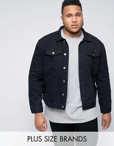 Черная джинсовая куртка Duke PLUS - Черный