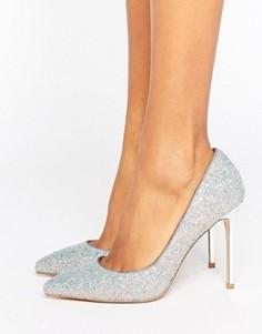 Туфли-лодочки с острым носком и блестками Faith Chloe - Мульти