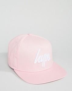 Розовая бейсболка Hype - Розовый