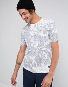 Белая футболка с цветочным принтом Levis Line 8 - Белый