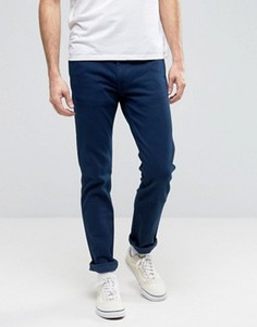 Ярко-синие джинсы слим Levis Line 8 - Темно-синий