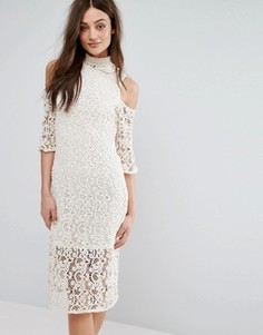 Кружевное платье Stevie May - Белый