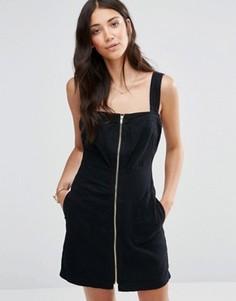 Джинсовое платье Vila Axel - Черный