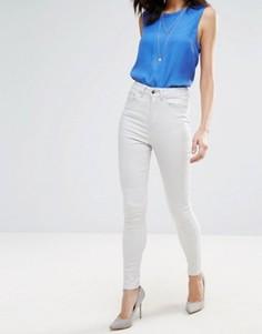 Зауженные джинсы с высокой талией Only Studio 1 - Розовый