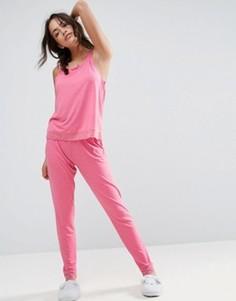 Пижамный комплект с майкой и леггинсами ASOS - Розовый