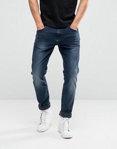 Синие джинсы слим Blend - Синий