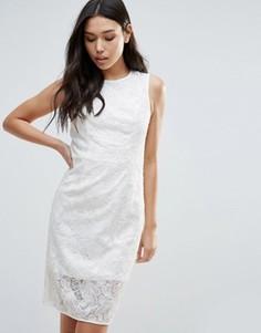 Платье с бантом на талии Talulah Romantic Desire - Белый