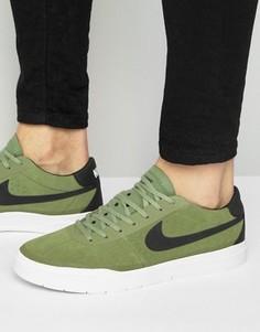 Зеленые кроссовки Nike SB Bruin Hyperfeel 831756-300 - Зеленый
