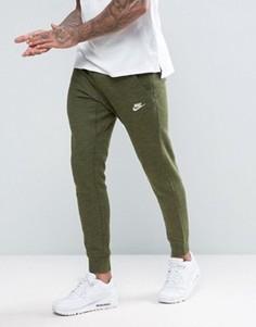 Зеленые джоггеры Nike Legacy 805150-331 - Зеленый