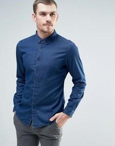 Серая джинсовая рубашка Esprit - Серый