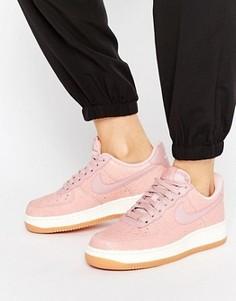 Розовые кроссовки Nike Air Force 1 Premium - Розовый