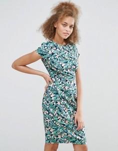 Платье с цветочным принтом Sugarhill Boutique Serita - Синий