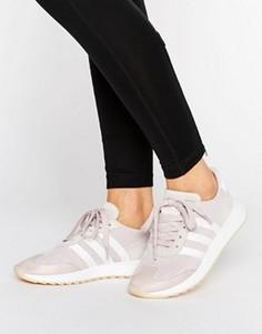 Светло-фиолетовые кроссовки adidas Originals FLB Racer - Фиолетовый