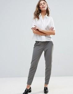 Строгие брюки Y.A.S Clady Spring - Кремовый