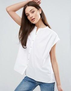 Рубашка с короткими рукавами M.i.h Jeans Push - Белый