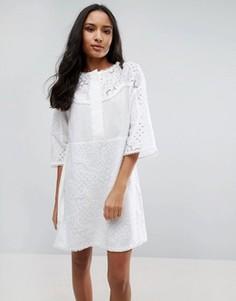 Свободное платье MiH Jeans Amo - Белый