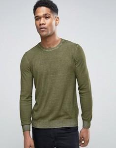 Джемпер Sisley - Зеленый