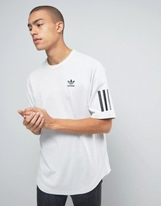 Белая футболка adidas Originals BK0511 - Белый