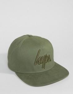 Зеленая бейсболка Hype - Зеленый