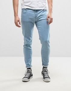 Выбеленные джинсы скинни Farah Howells - Синий