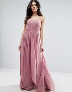 Розовое платье Y.A.S Molly - Розовый