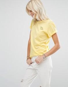 Желтая футболка Maison Scotch - Желтый