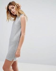 Вязаное платье Native Youth - Серый