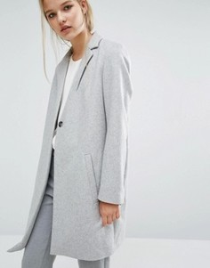 Пальто Samsoe & Samsoe Kahlia - Серый