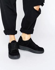 Кроссовки на шнуровке Blink - Черный