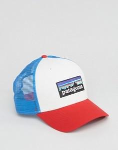 Белая кепка с логотипом Patagonia - Белый