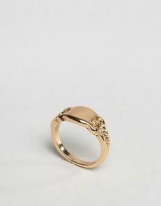Кольцо ASOS Sovereign - Золотой