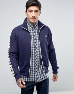 Темно-синяя спортивная куртка Fred Perry Sports Authentic - Темно-синий