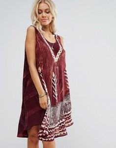 Пляжное платье с зонтиками Anmol - Мульти