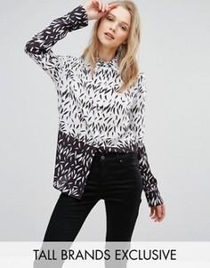 Блузка с принтом Alter Tall - Мульти