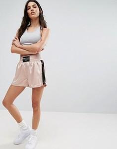 Спортивные шорты Pull&Bear Boxing - Розовый Pull&Bear