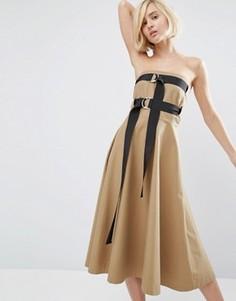 Платье Style Mafia Aella - Коричневый