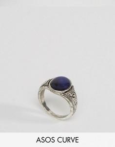 Кольцо с камнем настроения ASOS CURVE - Мульти