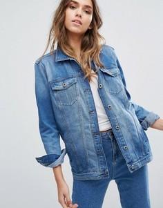 Джинсовая куртка из неэластичного денима Only - Синий