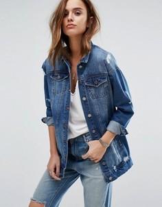 Джинсовая куртка Noisy May Angie - Синий