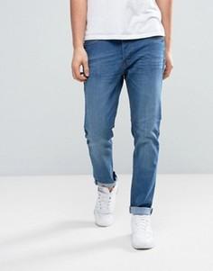 Выбеленные джинсы скинни Threadbare Riley - Синий