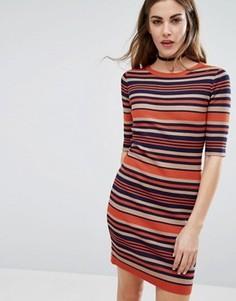 Облегающее платье в полоску QED London - Мульти