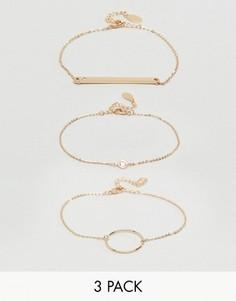 Изящные наборные браслеты ALDO Adrauss - Золотой