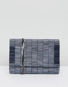 Темно-синяя сумка с отделкой Coast - Синий