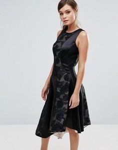 Асимметричное платье со вставками Coast Wendal - Мульти