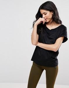 Свободная футболка Blend She Gaja - Черный