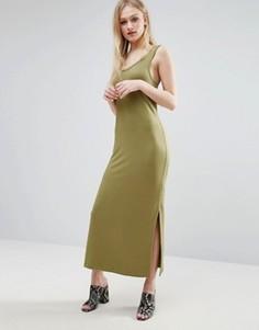 Платье-майка миди ADPT - Зеленый