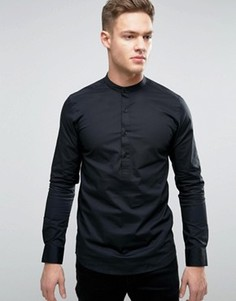 Приталенная рубашка Only & Sons - Черный