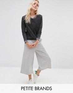 Трикотажная юбка-брюки Vero Moda Petite - Серый