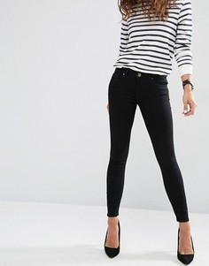 Черные джинсы скинни с заниженной талией ASOS Whitby - Черный